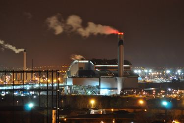 Energy from Waste by Incineration - shown at Belividere Incinerator