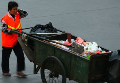 Handcarts have been a mainstay of solid waste management since the invention of the wheel.