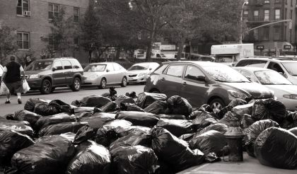 Street garbage soon fills our throughfares if not collected.